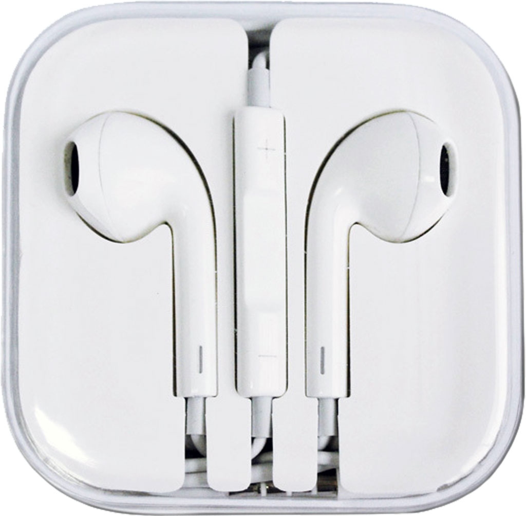 New Earphone Earpods Headset With Remote Amp Mic For Apple Iphone 6 5 4s 4 3gs And Ipod Hk