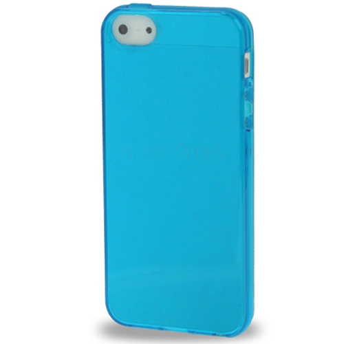 Transparent TPU Case for iPhone 5 & 5S (available in 7 ...