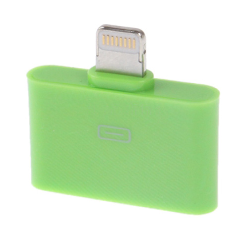 Colorful Series 30 Pin Female to Lightning 8 Pin Male Adapter for iPhone 5, iPad mini / mini 2 Retina, iPod Touch 5 (Available in 6 colors)