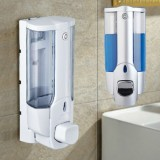 Bathroom 350ML Wall Mount Soap Sanitizer Shower Shampoo Dispenser