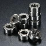 10Pcs 5x10x4mm Metal Sealed Shielded Deep Groove Ball Bearing MR105ZZ