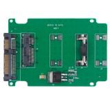 mSATA mini PCI-E SSD Hard Drive to 2.5 inch SATA Converter Card