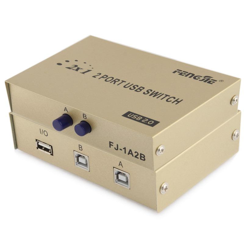 2 Port USB Data Switch S PC 0140