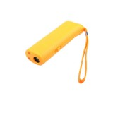 Yellow Ultrasonic Pet Dog Repeller Training Dog