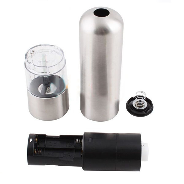 Stainless Steel Electric Sauce Salt Pepper Mill Grinder