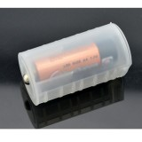 Battery Adapter Converter Adapter Case For 2xAA To D Size