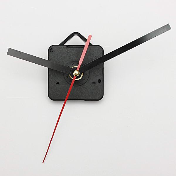 Black & Red Hands Quartz Wall Clock Movement Mechanism ...