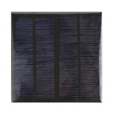 3W 6V Epoxy Monocrystalline Solar Panel Solar Cell Panel Solar Charger Panel