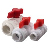 Plastic Pipe Valve PPR Plastic Stop Tap Valve for Water Pipe