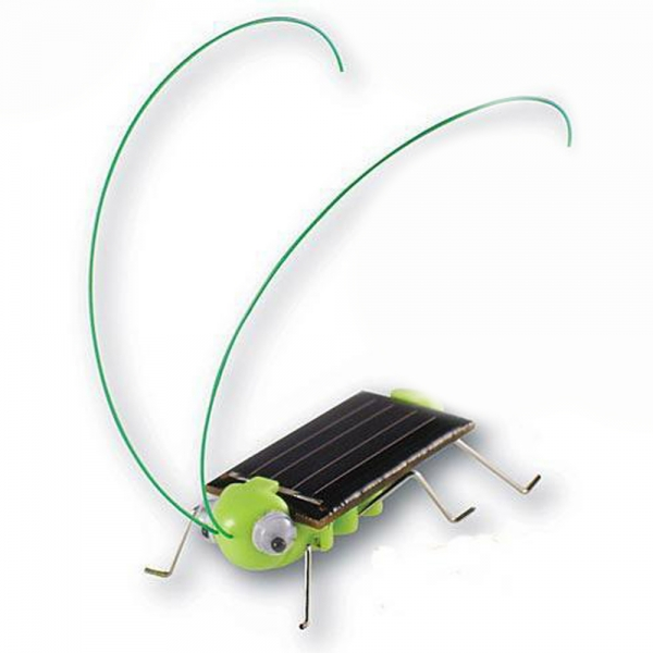 Environmentally Friendly Solar Grasshopper Black and Green ...