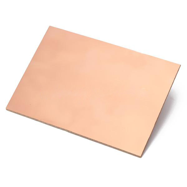 One Side Copper Clad 70x100x1 5mm Single Pcb Board Glass