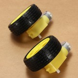 8Pcs Robot Smart Car Wheel Deceleration DC Motor For Arduino Smart Car Robot