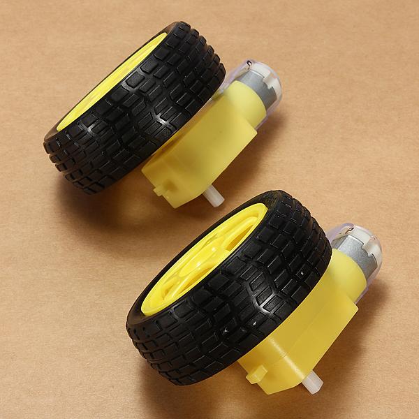 Pcs robot smart car wheel deceleration dc motor for