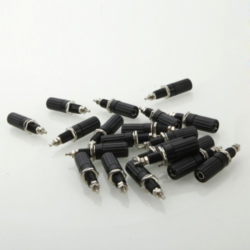 20 Pcs JL0329 DIY Binding Post Terminals Black