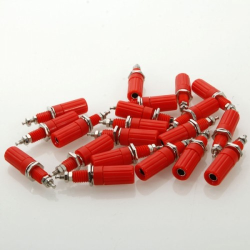 20 Pcs JL0329 DIY Binding Post Terminals Red