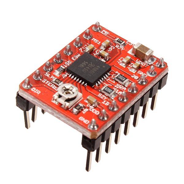 5pcs 3d printer a4988 reprap stepper motor driver module for A4988 stepper motor driver