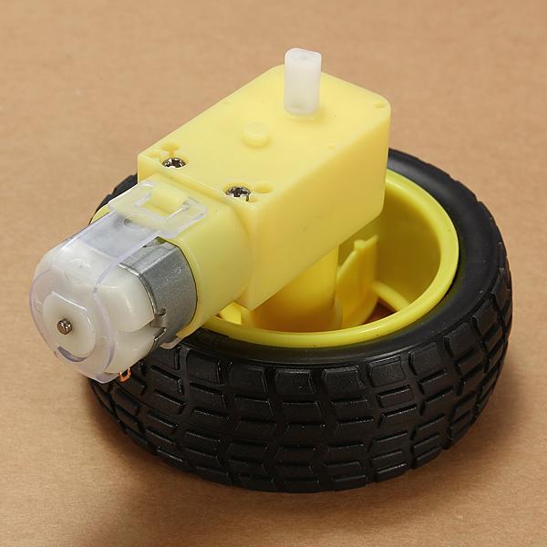 8Pcs Robot Smart Car Wheel Deceleration DC Motor For Arduino Smart Car Robot