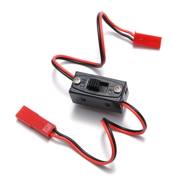 On/Off Switch Connector Plug JST Male Female Wire For RC Li-po ...
