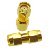 RP-SMA Male to RP-SMA Male RF Connector Adapter RP-SMA-JJ