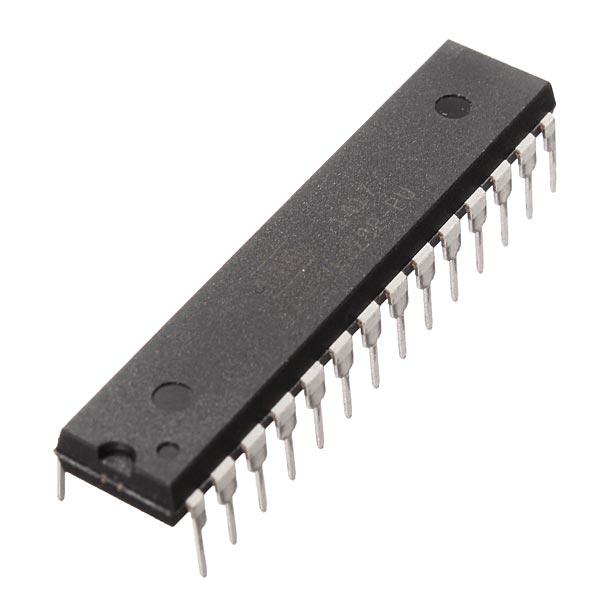 Dip atmega p pu microcontroller ic chip with arduino