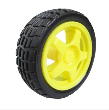 4 pcs smart robot car tyres wheels for arduino tt gear for Robot motors and wheels
