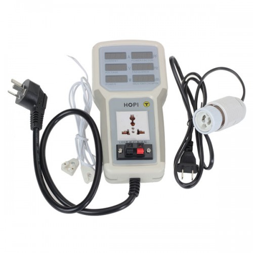 Electrical Socket Tester : Hp  v a electric hand held power meter