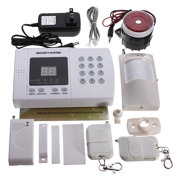 Wireless Autodial Phone Burglar Home Security Alarm System