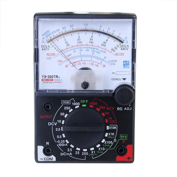 Ohmmeter Reading 0 Ohms : Yx trn analog multimeter digital ac dc voltmeter