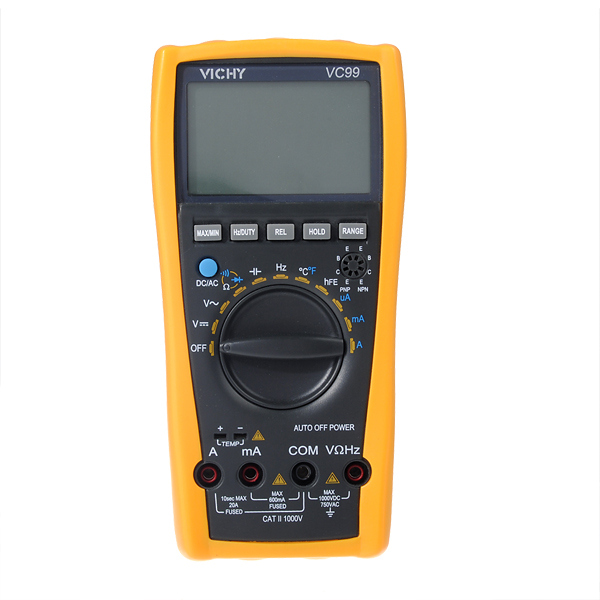 Professional Digital Multimeter : Vichy vc auto range professional digital multimeter