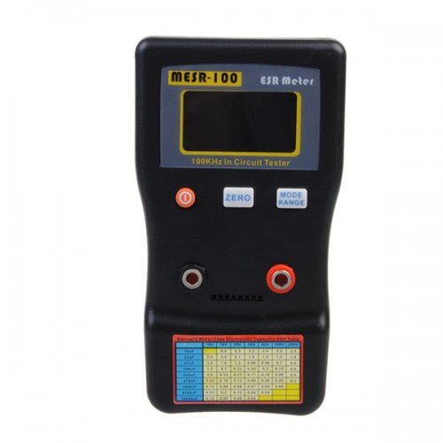 100 Autoranging Esr Low Ohm Circuit Capacitor Meter Tester Alex Nld