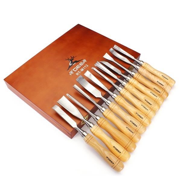 Pcs carving chisels kit woodworking knifes wood