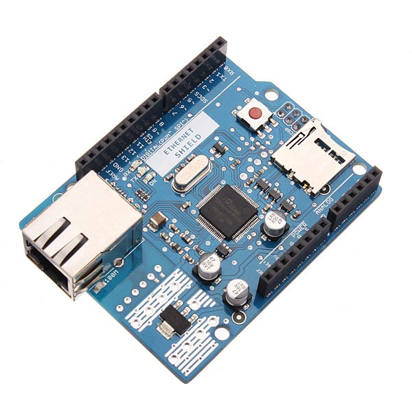 Ethernet shield w r support poe for arduino uno mega