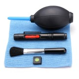 5 In 1 Camera Cleaning Kit Hot Shoe Spirit Lens Pen Air Blowing Cleaning Cloth Brush