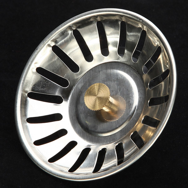 McAlpine Stainless Steel Kitchen Sink Drain Strainer