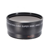 58mm 0.45x Wide Angle Conversion Lens for Canon EOS