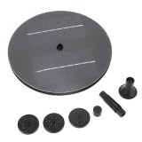 Solar Panel Water Floating Pump Fountain Pool Plants Watering Kit