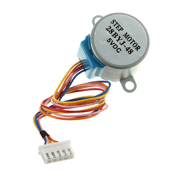 Gear Stepper Motor Dc 5v 4 Phase 5 Wire Reduction Step For
