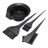 Hair Color Dye Bowl Comb Brushes Tool Kit Set Tint Coloring
