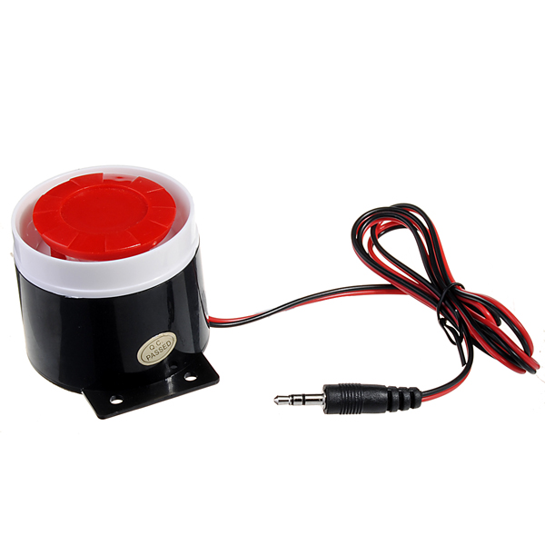 120dB Wired Siren Horn Speaker for GSM Security System Alarm