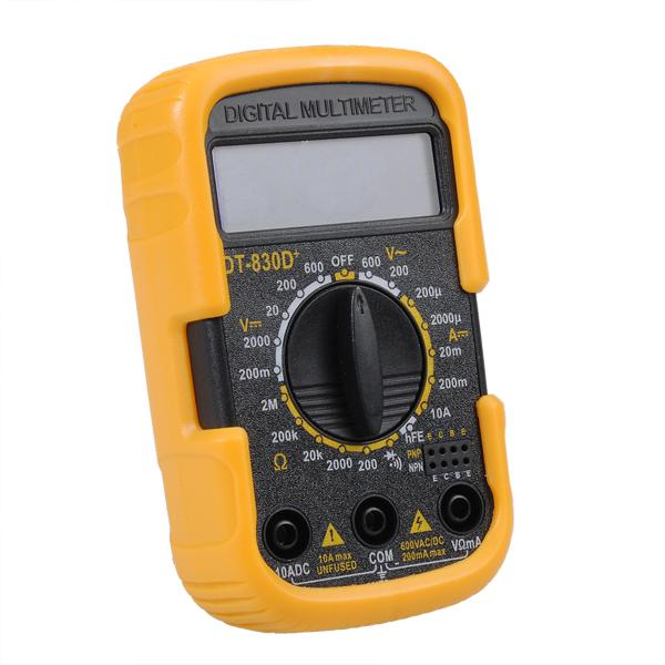 Dt 830D Mini Multimetro Tester a Batterie tascabile  PROMO !