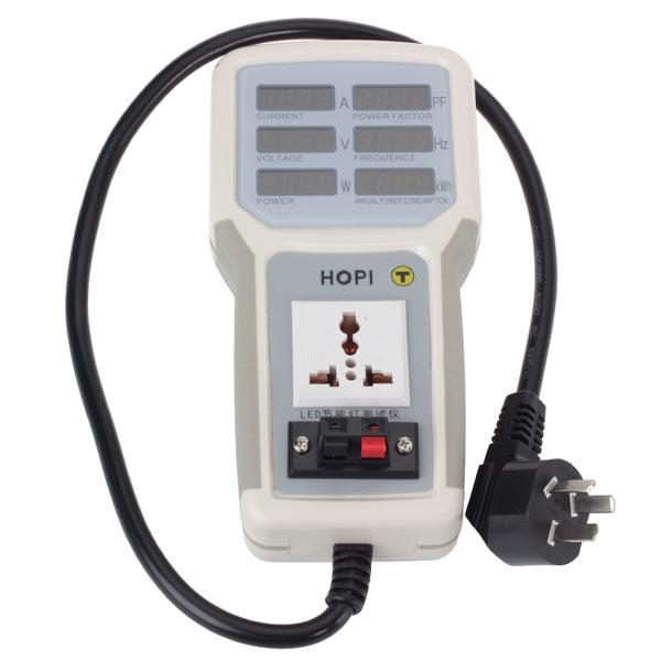 Hand Held Electrical Meters : Hp  v a electric hand held power meter