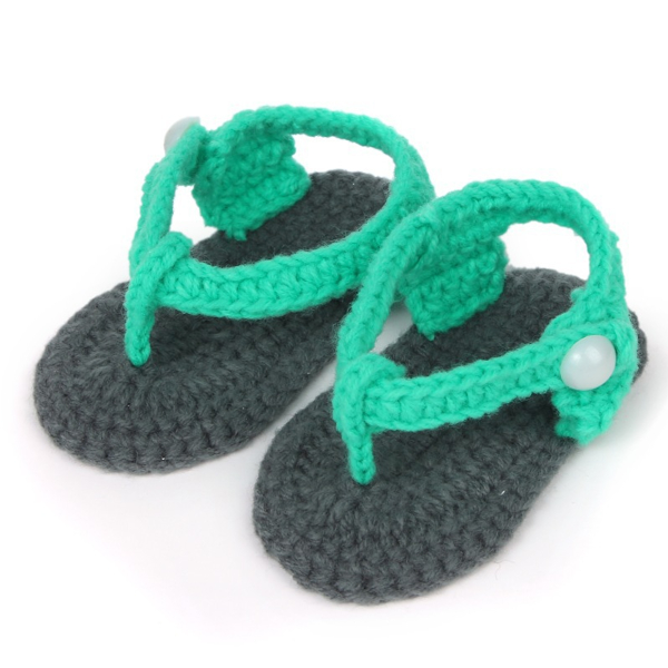 Baby Knitting Shoes Products : Baby children toddler crochet handmade knitted casual