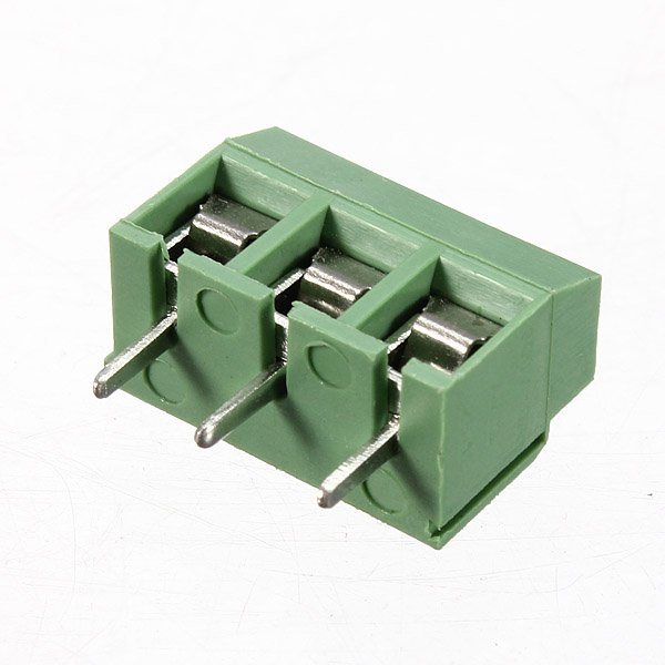 Pin mm pitch screw terminal block connector