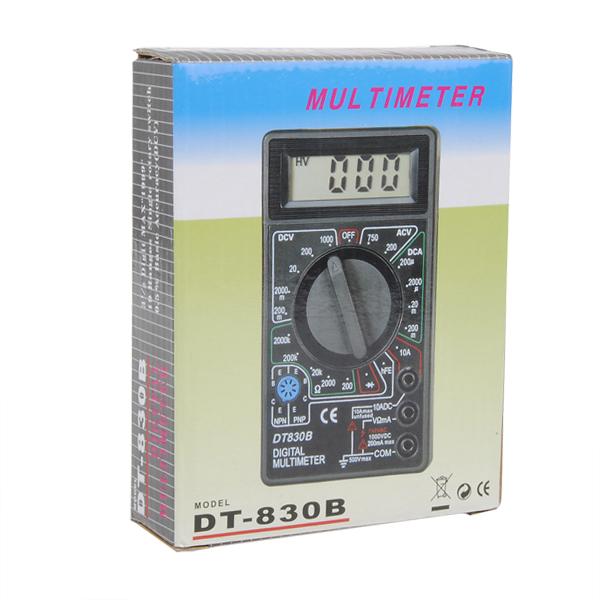Different Types Of Multimeters : Dt b ac dc digital multimeter for ammeter voltmeter