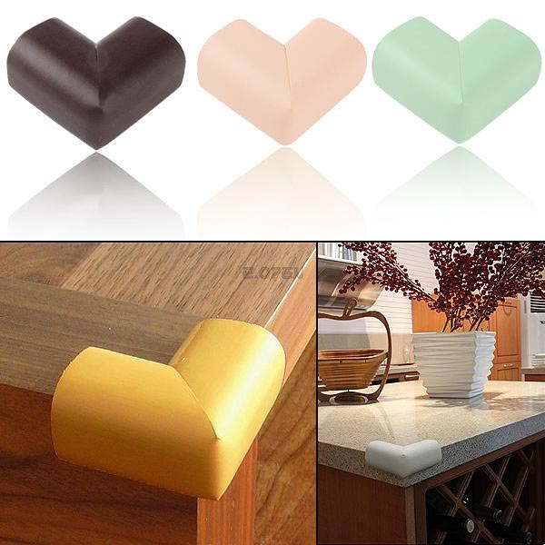 Four PCS Table Corners Edge Cushion Guard Table Edge Bumper Guards Kids Safety Protector