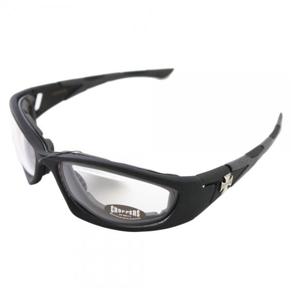 18352689012 CHOPPERS-CH2502TS-Men-Stylish-Motorcycle-Goggles-Sunglasses-Black- ...