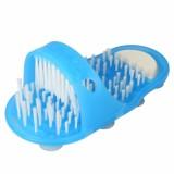 Health Care Leisure Foot Massage Shower Slipper Shoes Massager Blue