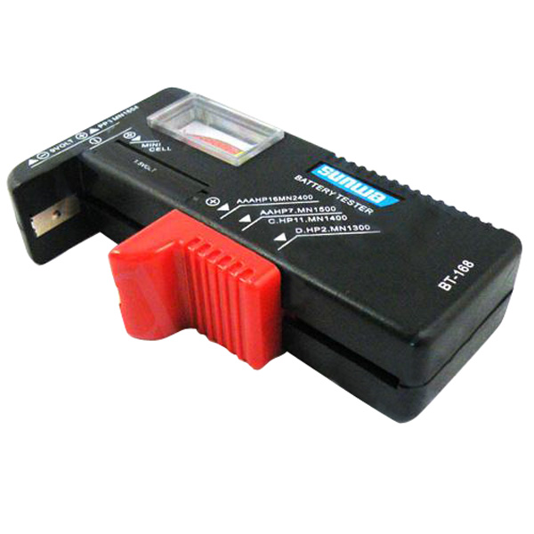 Bt 168 Universal Battery Tester Aa Aaa C D 9v Button