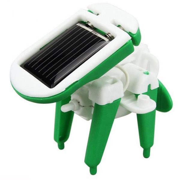 New 6 In 1 Educational Solar Toys Kit Robot Chameleon ...
