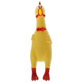 Stress Relieving Toy Stress-Reliever Screaming Hen Squeezy Toy Small